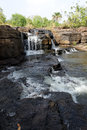 Waterfalls of banfora burkina faso the basin a waterfall in Stock Photo