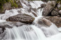 Waterfalls beautiful in a spring Stock Image