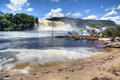 Waterfalls of canaima in venezuela Royalty Free Stock Photography