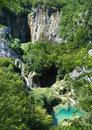 Waterfalls in croatia national park plitvicka jezera Stock Photography