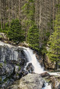 Waterfalls in High Tatras