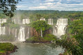 Waterfalls in iguazu nature at argentina Stock Image