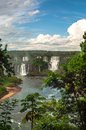 Waterfalls in iguazu nature at argentina Stock Photos