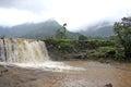 Waterfalls during Monsoon Royalty Free Stock Photo