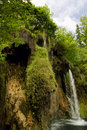 Waterfalls plitvice lakes national park croatia Stock Photo