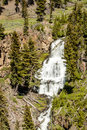 Waterfalls, Yellowstone National Park Royalty Free Stock Photo