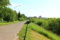 Waterfront City Zelenogorsk Royalty Free Stock Photo