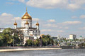 Waterfront of Moscow city Royalty Free Stock Photo