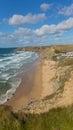 Watergate Bay beach Cornwall England UK Cornish north coast between Newquay and Padstow Royalty Free Stock Photo