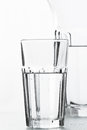 Waterglass Royalty Free Stock Photo