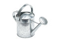 Watering Can from metal Royalty Free Stock Images
