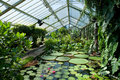 The Waterlily House, Kew Gardens Royalty Free Stock Photos
