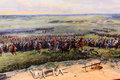 Waterloo bitwy pomnik Obrazy Royalty Free
