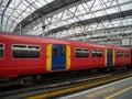 Waterloo train station in london united kingdom Stock Image