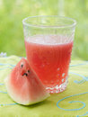 Watermelon drink Stock Photos