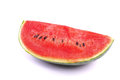 Watermelon isolated on white background studio shot Royalty Free Stock Images