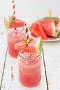 Watermelon juice Royalty Free Stock Photo