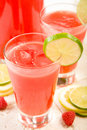 Watermelon Punch Royalty Free Stock Photo
