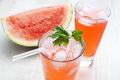 Watermelon punch Stock Image