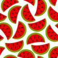 Watermelon seamless background Royalty Free Stock Image