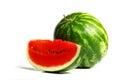 Watermelon slice Royalty Free Stock Photo