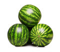 Watermelons isolated Royalty Free Stock Photo