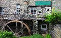 Watermill in ambleside an old cumbria england Royalty Free Stock Photography