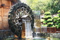 Watermill on display in hong kong Royalty Free Stock Images