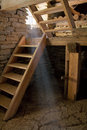 Watermill interior Royalty Free Stock Photography