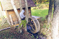Watermill keeper in the summer Stock Photography