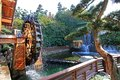 Watermill at nan lian garden chinese classical in diamond hill hong kong Stock Photos
