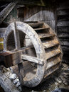 Watermill old wheel at a Royalty Free Stock Images