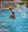 Waterpolo Royalty Free Stock Photo
