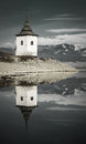 Waterscape at liptovska mara slovakia Royalty Free Stock Photos
