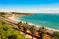 Waterscape from tarragona shore view spain november Stock Photography