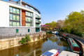 Waterside apartments at Limehosue Cut