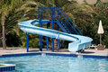 Waterslide Royaltyfria Foton