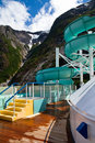Waterslide in Alaska Stock Image