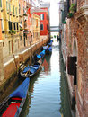 Waterway in Venice Royalty Free Stock Images