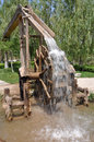 The waterwheel invented by duan xu in the ming dynasty is the oldest one it is in lanzhou city which was reputed to be the city of Stock Photos