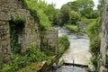 Waterwheel at Mill Bridge Royalty Free Stock Image