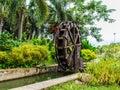 Waterwheel in wood stock photo Stock Image