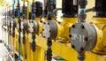 Waterworks engine Stock Photos