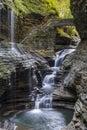 Watkins Glen Gorge Royalty Free Stock Photo