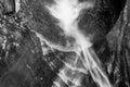 Watkins glen state park watkins glen water fall ny in in Royalty Free Stock Image