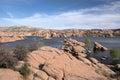 Watson Lake Park, Arizona, USA Royalty Free Stock Photo