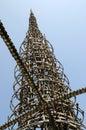 Watts Towers, Los Angeles, California Royalty Free Stock Photo