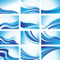 Wave Backgrounds Royalty Free Stock Photo