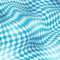 Wave backgrounds for beer festival oktoberfest flag of bavaria bayern flagge in german Stock Image