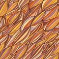 Wave line seamless pattern Royalty Free Stock Photo